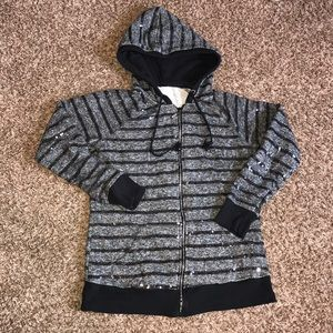 Maurices sequened hoodie